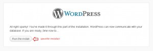 Instalace WordPress